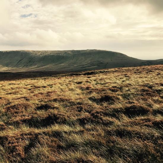 High Peak from Ashop Moor