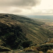 View back to Kinder Scout