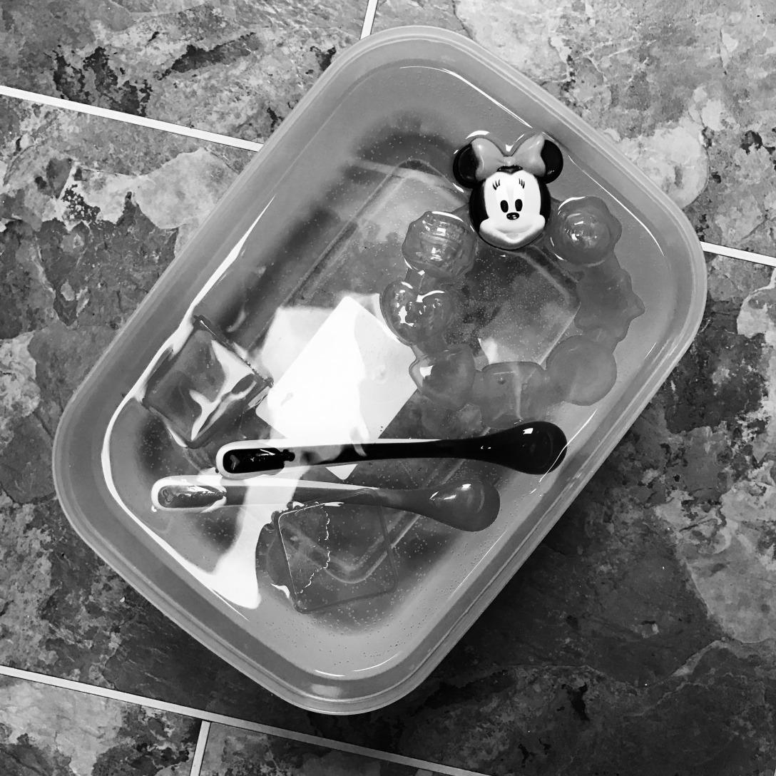 Kitchen baby plastic
