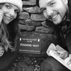 Start of the Pennine Way